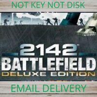 🎁Battlefield 2142 Deluxe Edition🎁PC Game Region Free WARRANTY