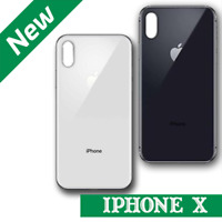 Back Rear Glass Housing Battery Case Cover Replacement For Apple iPhone X