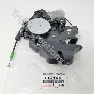 TOYOTA OEM 64650-50040 GENUINE TRUNK BOOT LATCH LOCK LEXUS XF40 LS460 L LS600HL