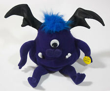 GEMMY ONE EYE ONE HORN FLYING PURPLE PEOPLE EATER SINGING VIBRATING PLUSH TOY