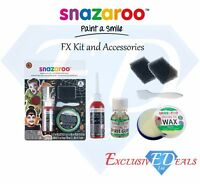 Snazaroo Professional Face and Body Special Effects Kit, FX Kit - Halloween