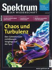 Spektrum der Wissenschaft, Heft Januar 01/2013: Chaos und Turbulenz + wie neu +