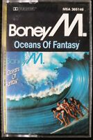 BONEYM OCEANS OF FANTASY CASSETTE TAPE ALBUM