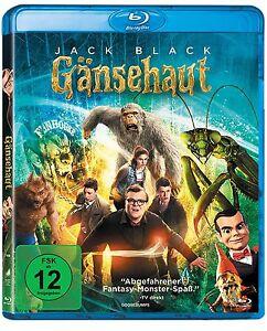 Gänsehaut [Blu-ray](NEU/OVP) abgefahrenen Monster-Spaß mit Jack Black