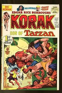 KORAK SON OF TARZAN #46 VERY FINE 8.0 52 PAGES 1972 DC COMICS