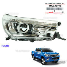 Fits Toyota Hilux Revo Sr5 M70 M80 15 17 Right Led Head Lamp Light Projector OEM