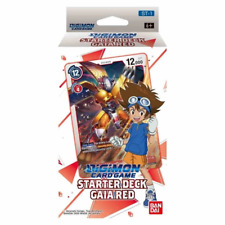 PREORDER Digimon Card Game Series 01 Starter Deck 01 Gaia Red