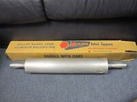 Vintage ALUMINUM ROLLING PIN