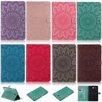Sunflowers ID Wallet Leather Flip Case Cover For Samsung Tab T580 T560 T280 T550