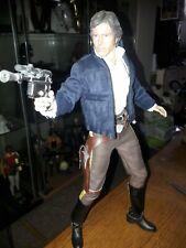 Han Solo esb Sideshow / Hot Toys Star wars 1/6th figure used custom