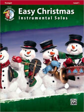 Easy Christmas Instrumental Solos, Level 1 : Trumpet