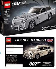 LEGO 10262 James Bond Aston Martin DB5 with License To Build, In-Hand NEW/Sealed