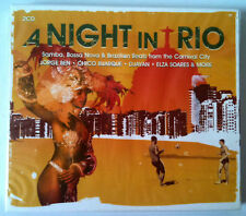 A NIGHT IN RIO - SAMBA/ BOSSA NOVA/ CARNAVAL  2CD NEUF