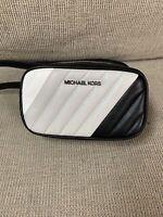 New! Michael Kors  Belt Bag Leather Quilted Fanny Waist Pack bag