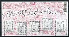 Netherlands 2018 MNH Beautiful Dutch Zierikzee 5v M/S Architecture Stamps