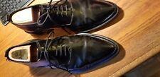 MEN'S SHOES - COSTUME NATIONAL - VINTAGE BLACK POINTY TOE - EUR 9.5 - US 11M