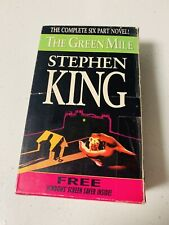 Stephen King The Green Mile Complete Six Part Novel Scary Book Set
