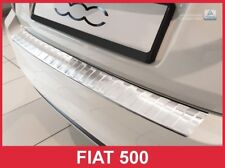 2016-2017 Fiat 500 Stainless Steel Rear Bumper Protector Guard