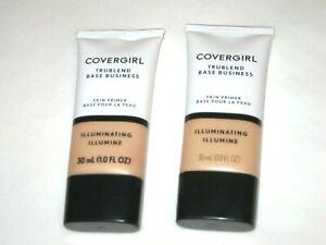 Covergirl TruBlend Base Business Skin Primer ILLUMINATING 1.0 FL Oz (2 pack)