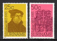 Suriname - 1983 Martin Luther / Reformation - Mi. 1063-64 MNH