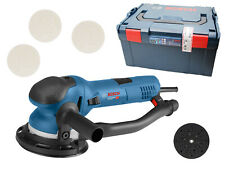 Bosch Professional  Exzenterschleifer GET 75-150 150 mm + L-BOXX + Schleifteller