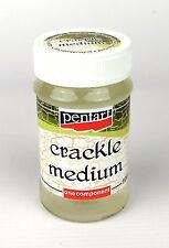Pentart Crackle Medium Classic, Single-Component 100ml