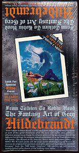 Vintage: GREG HILDEBRANDT Trading Cards, Unopened box. 48 count.