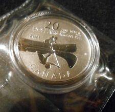 $20 for $20 Fine Silver Coin - Canoe (2011)-COTY Best Silver