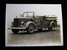 FIRE TRUCK ENGINE CO #1    1940s  #7382