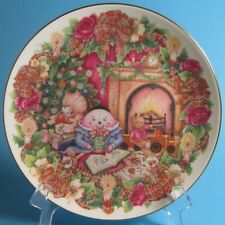 Royal Doulton The Night Before Christmas Jane James Collector Plate England