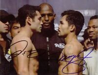 Oscar De La Hoya / Manny Pacquiao Autographed Signed 8x10 Photo REPRINT
