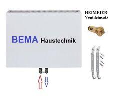 Typ 22 - BH 600 x BL 2000 mm * PLAN Ventilheizkörper mit Mittelanschluss