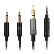 Cable de Audio Bowers & Wilkins P3 Auriculares Blanco y Negro Iphone Android reemplazo de plomo
