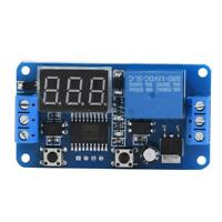 DC12V LED Display Infinite Cycle Delay Timer Timing Switch ON/OFF Relay Module