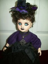 GOTHIC GIRL DOLL OOAK HORROR HALLOWEEN 15 INCHES TALL