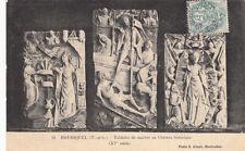 BRUNIQUEL 21 tablettes de marbre au château historique photo gimet timbrée