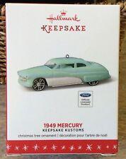Hallmark Ornament 1949 Ford Mercury 2016 Die-Cast Metal - Awesome!