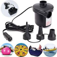 Electric Portable Air Pump for Inflatables Air Mattress Raft Bed Boat Pool Float
