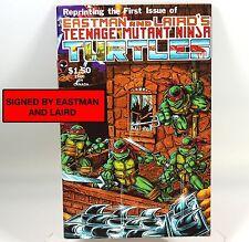 Teenage Mutant Ninja Turtles #1 4thPrint SIGNED EASTMAN LAIRD (Mirage 1985) TMNT