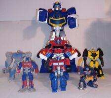 Transformers Action Figure Toy Robots & vinyl figure lot Optimus Prime Autobots