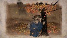 Winter Day (Japanese Project) Norstein's//Norshteyn Signed Giclée (Tikusai)