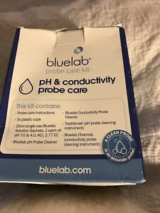 Bluelab Probe Care Kits pH & Ec Conductivity Cleaning Maintenance.