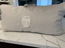 New $158 Coyuchi King Down Feather Pillow 36x20�