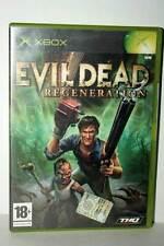 EVIL DEAD REGENERATION GIOCO USATO OTTIMO STATO XBOX ED ITALIANA PAL GD1 40062