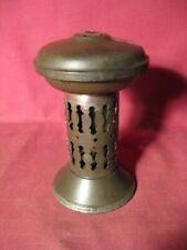 Rare Antique 19th Century Tin Medical Vapor Lamp