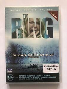 The Ring (2002, Region 4 DVD, Naomi Watts, Martin Henderson)
