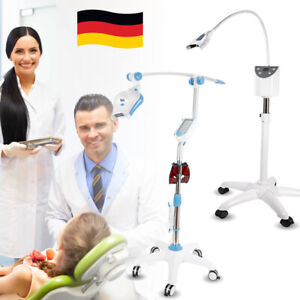 Dental Mobile Teeth Whitening Machine Cold LED Bleaching Light Oral Beauty 3 Opt