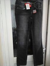 WOMENS CLOCKHOUSE (C&A) GREYWASH SLIM FIT JEANS SIZE 10 LEG 32 (NEW)