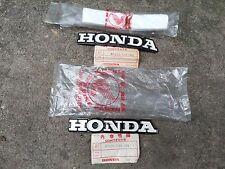 HONDA CB100 CL100 CB125S L/R TANK BADGES EMBLEM NOS GENUINE JAPAN