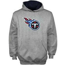 Tennessee Titans YOUTH BOYS Sweatshirt Classic Logo Pullover Hoodie Gray